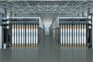 北京郭公庄水厂60万吨/日自来水项目