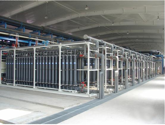 天津荣程联合钢铁7.2万吨/日再生水回用项目