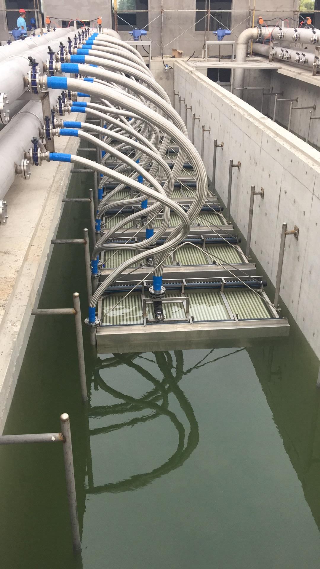 青岛城阳城区污水处理厂15万吨/日的污水处理项目