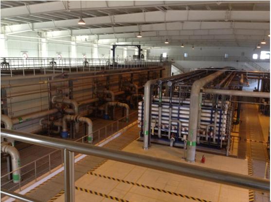 陕西蒲城70万吨/年煤制烯烃回用水站EPC项目